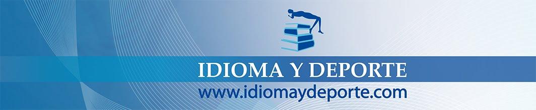 Cabecera de Idioma y Deporte